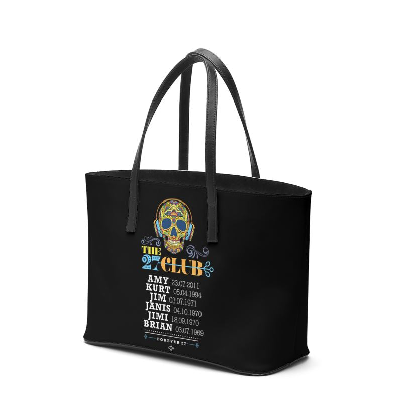 27 CLUB - SKULL WEARING HEADPHONES KIKA TOTE