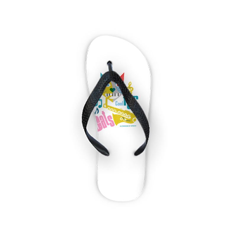 COOL FOR CATS DESIGN 3 FLIP FLOPS