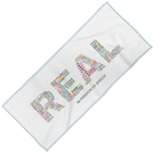 REAL MAXI BEACH TOWEL