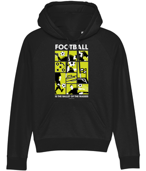 Football is the Ballet of the Masses Women's Hoodie