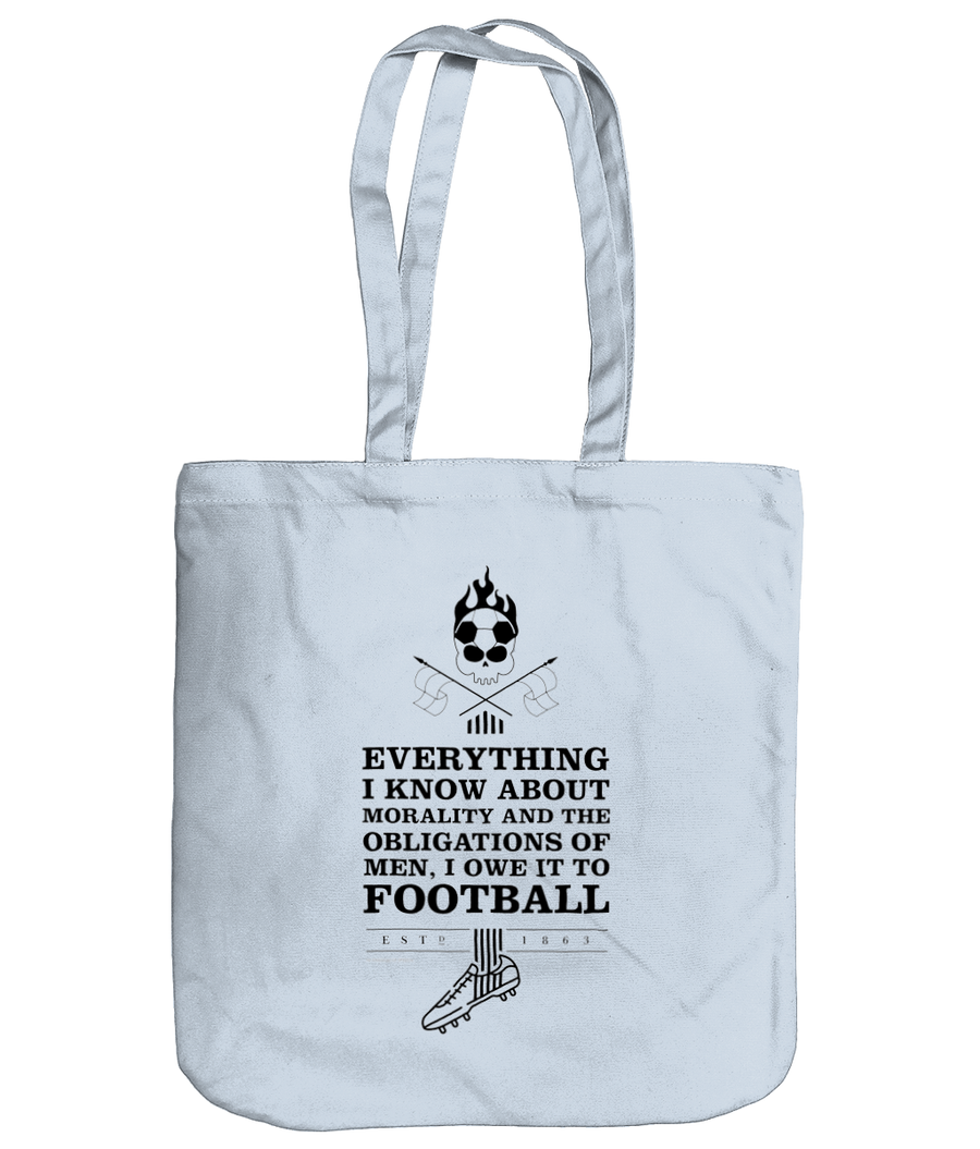 Everything I know About Morality Organic Cotton Tote Bag