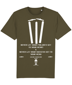 The Cover Drive Range - Sachin Tendulkar Quote T-Shirt