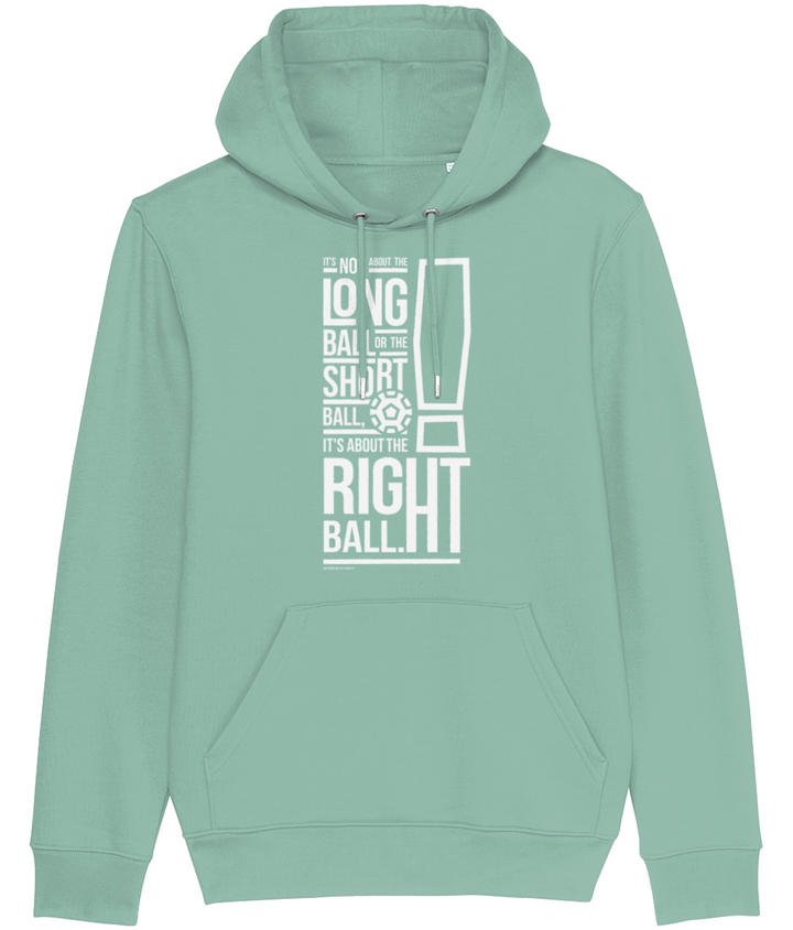 It's not About the Long Ball or the Short Ball - Bob Paisley Men's Hoodie