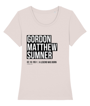 Gordon Matthew Sumner - aka Sting - Women's T-Shirt