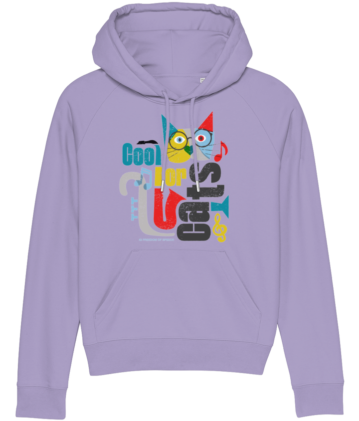 Cool For Cats Design 1 Women's Hoodie