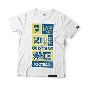 7 Continents, 211 Nations, only 1 Football Black Label T-Shirt