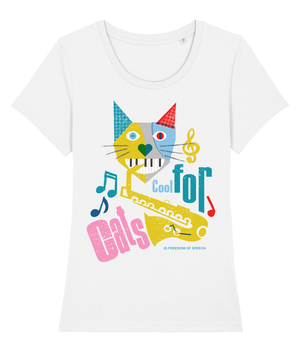 COOL FOR CATS NUMBER 3 WOMEN'S T-SHIRT