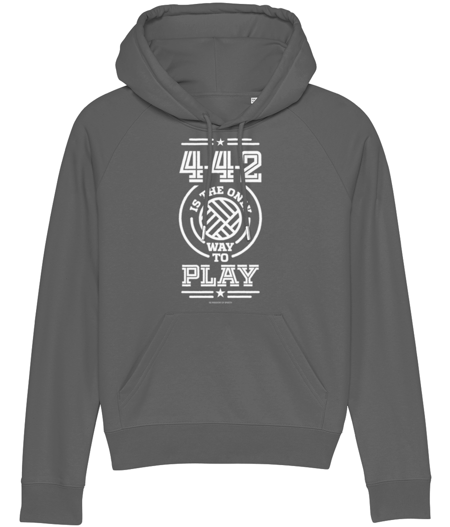 4-4-2 is the only way to Play Women's Hoodie