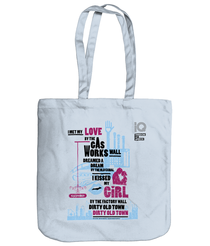Dirty Old Town - Ewan MacColl - Organic Cotton Tote Bag