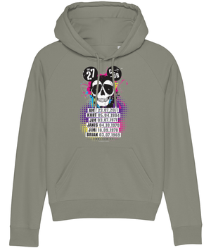 27 CLUB - DAY OF THE DEAD MOUSE SKULL WOMEN'S HOODIE