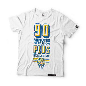 90 Minutes of Passion, Plus Extra Time Black Label T-Shirt