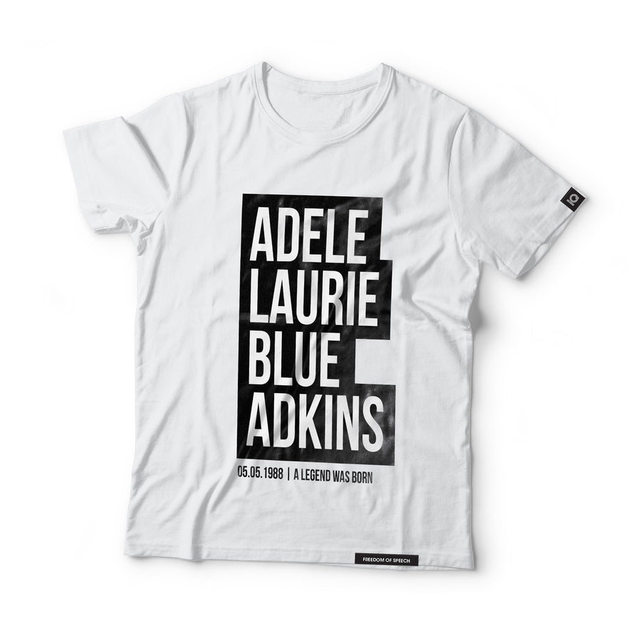 Adele Laurie Blue Adkins - aka Adele - Black Label T-Shirt