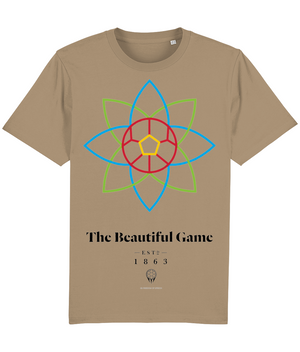 The Beautiful Game 100% Organic Cotton T-Shirt - Camel