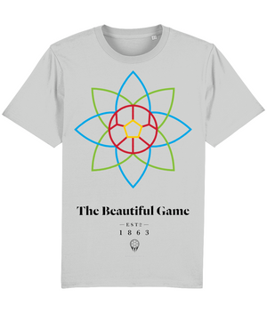 The Beautiful Game 100% Organic Cotton T-Shirt - Heather Grey