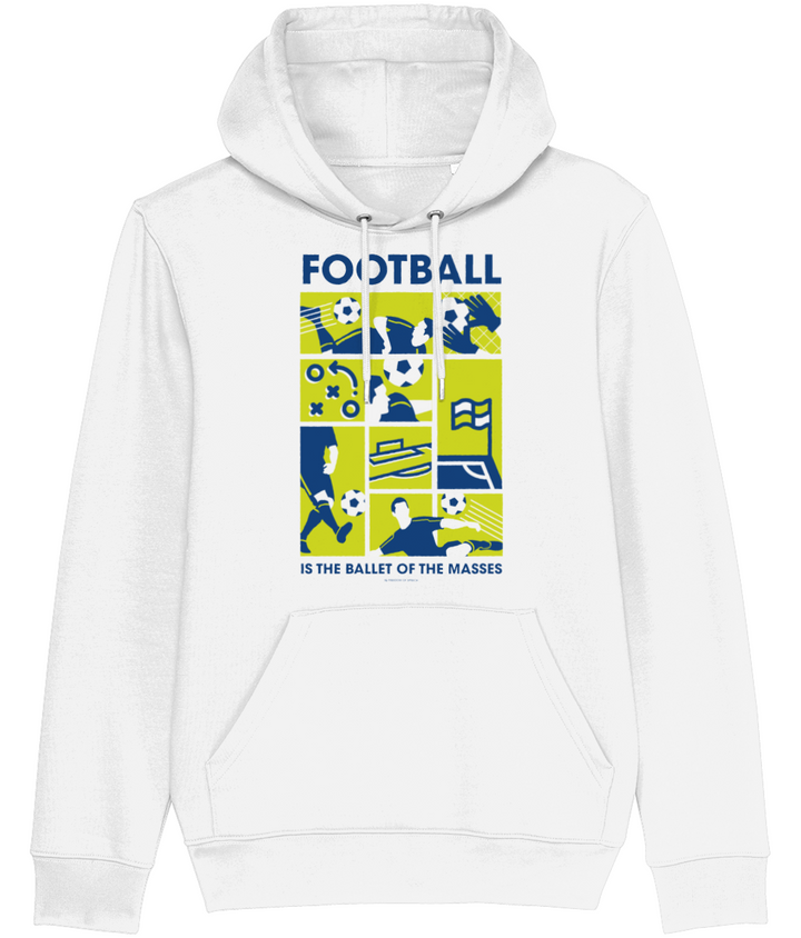 Football is the Ballet of the Masses - Dmitri Shostakovich Men's Hoodie
