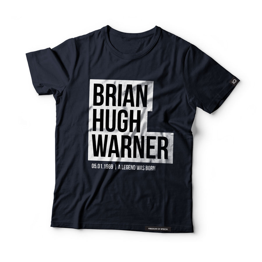 Brian Hugh Warner - Black Label T-Shirt