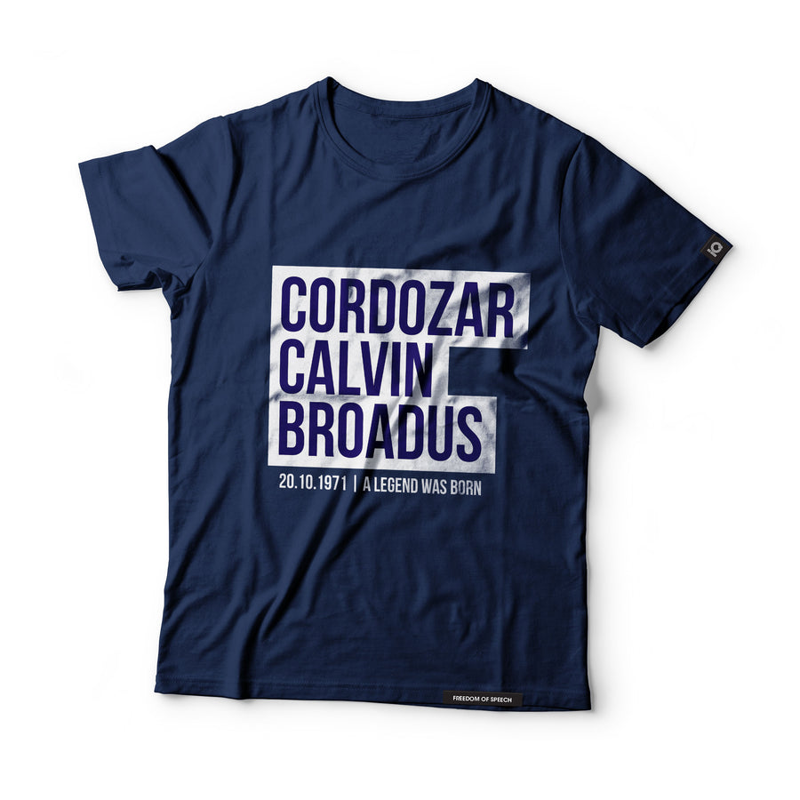 Cordozar Calvin Broadus - Black Label T-Shirt