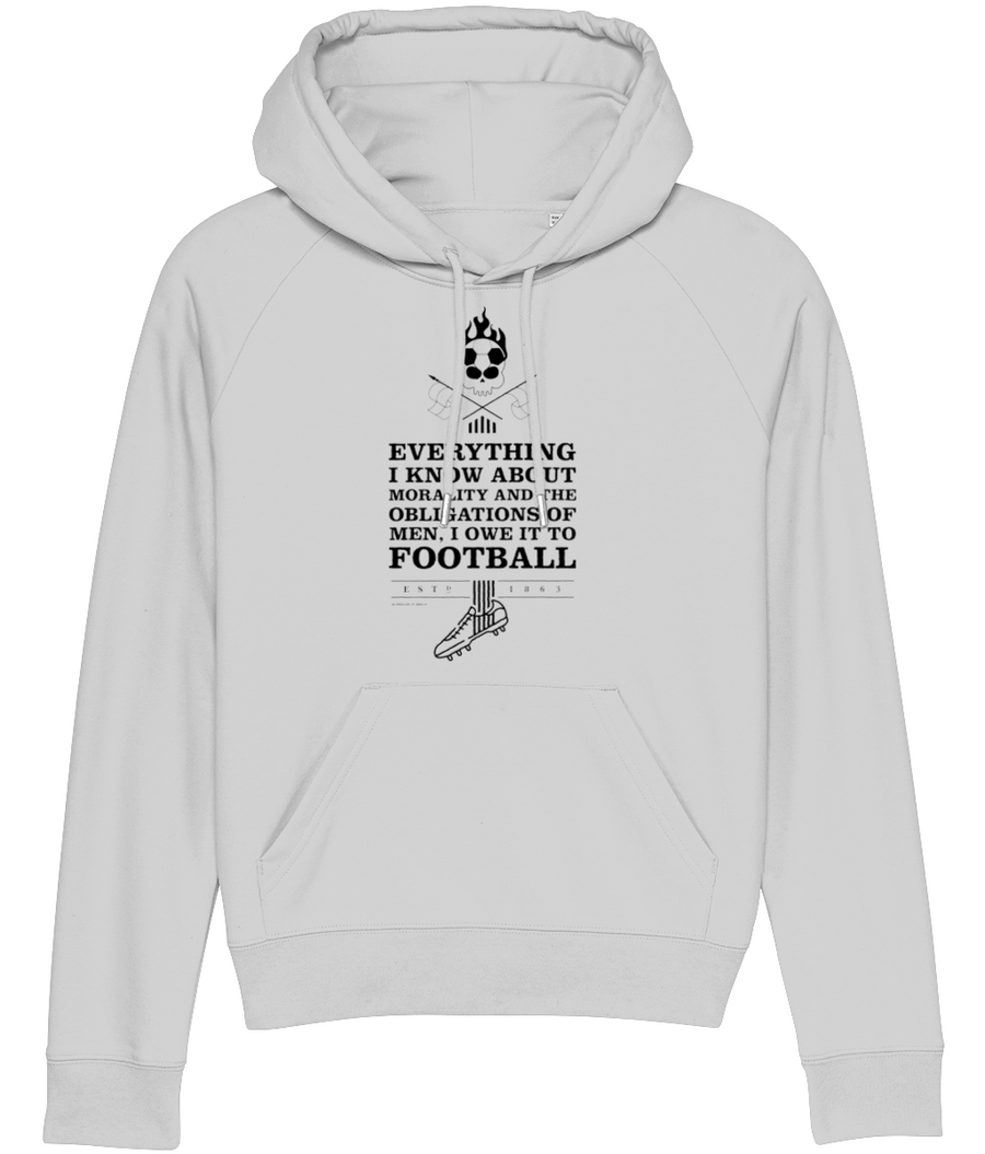 Everything I know about Morality Women's Hoodie