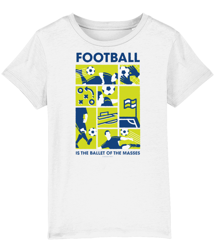 Football is the Ballet of the Masses Kids T-Shirt
