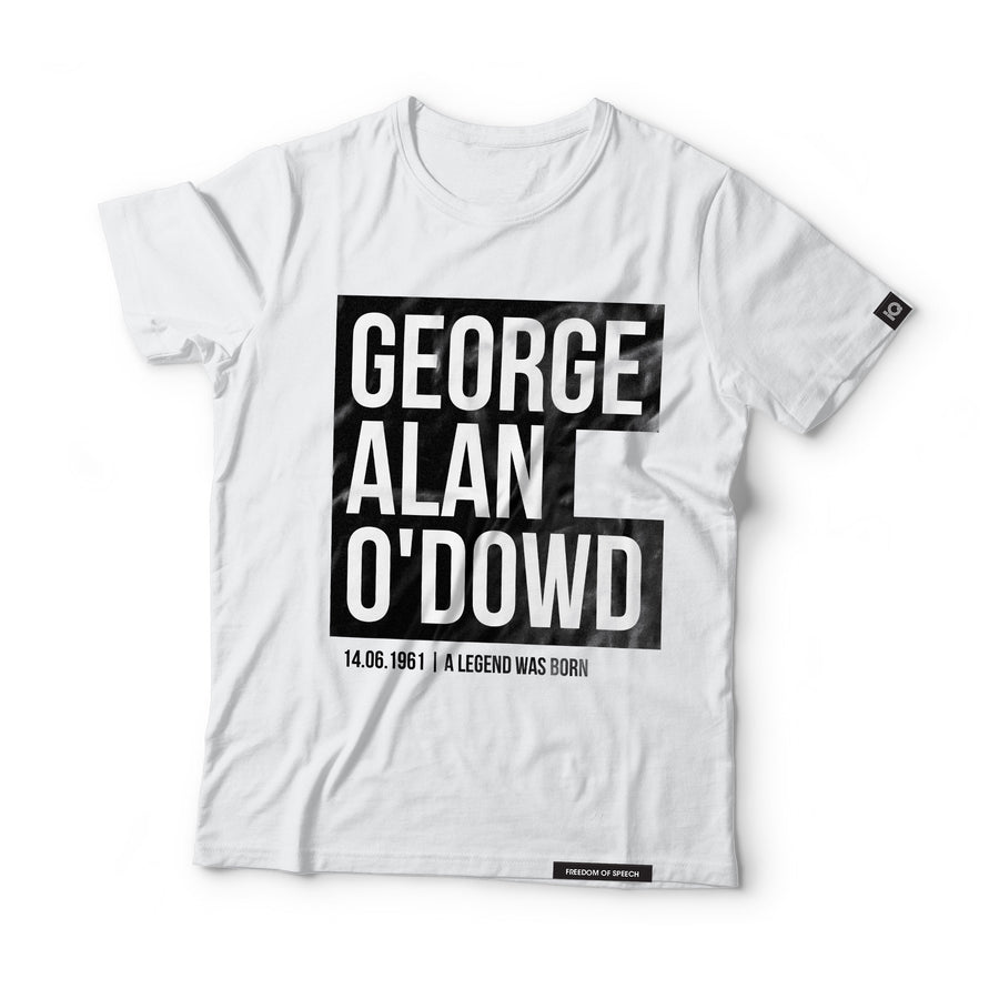 George Alan O'Dowd - aka Boy George - Black Label T-Shirt