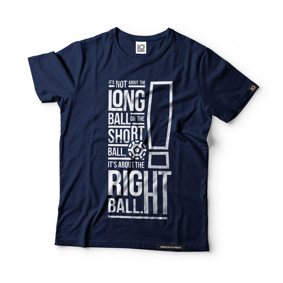 It's not about the Long Ball - Bob Paisley - Black Label T-Shirt
