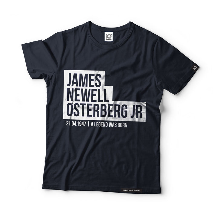 James Newell Osterberg - Black Label T-Shirt