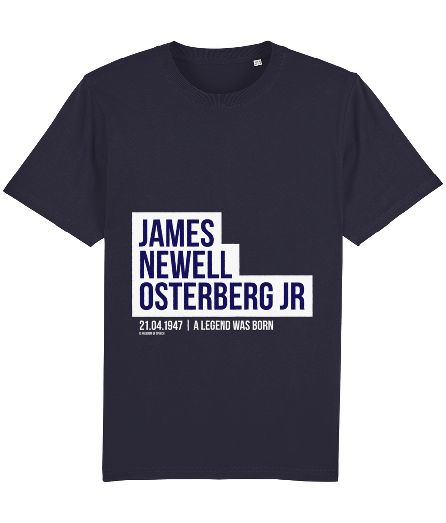 James Newell Osterberg - aka Iggy Pop - T-Shirt