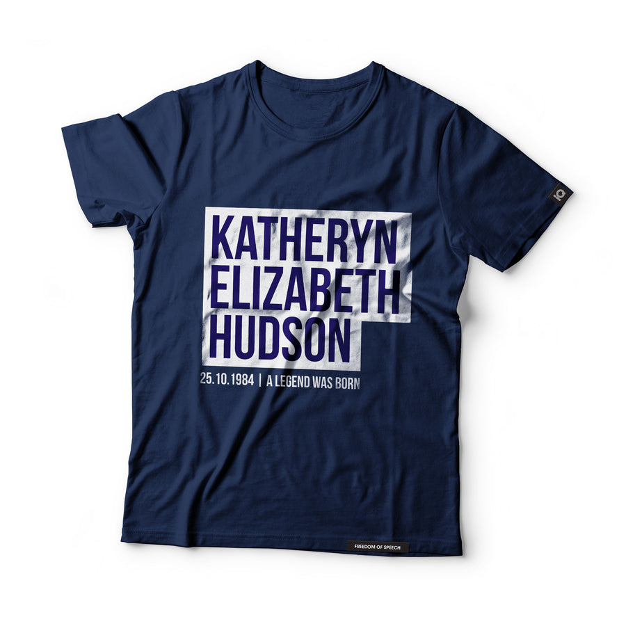 Katheryn Elizabeth Hudson - aka Katy Perry - Black Label T-Shirt