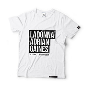 Ladonna Adrian Gaines - aka Donna Summer - Black Label T-Shirt