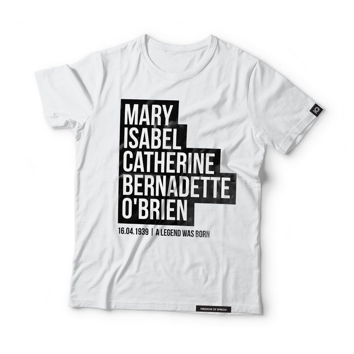 Mary Isabel Catherine Bernadette O'Brien - aka Dusty Springfield - Black Label T-Shirt