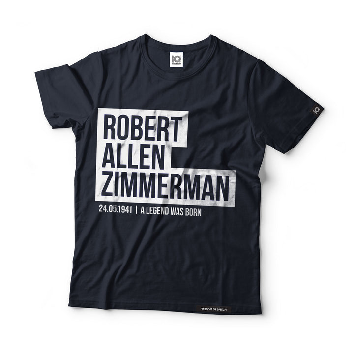 Robert Allen Zimmerman - Black Label T-Shirt