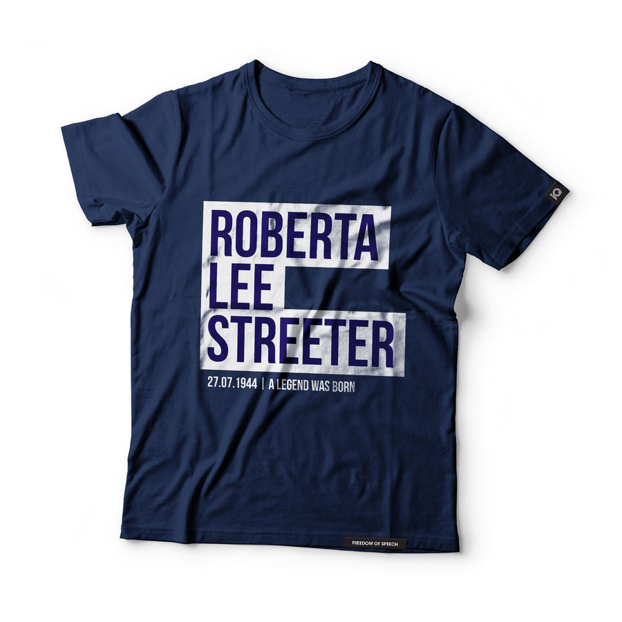 Roberta Lee Streeter - aka Bobbie Gentry - Black Label T-Shirt