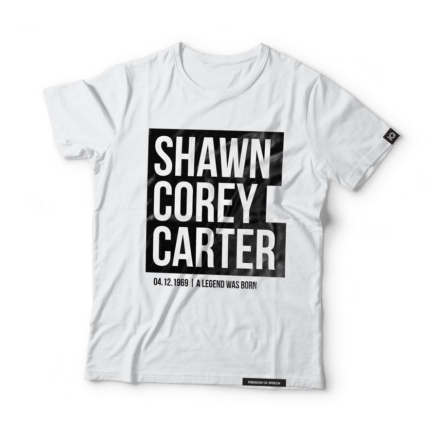 Shawn Corey Carter - aka Jay-Z - Black Label T-Shirt