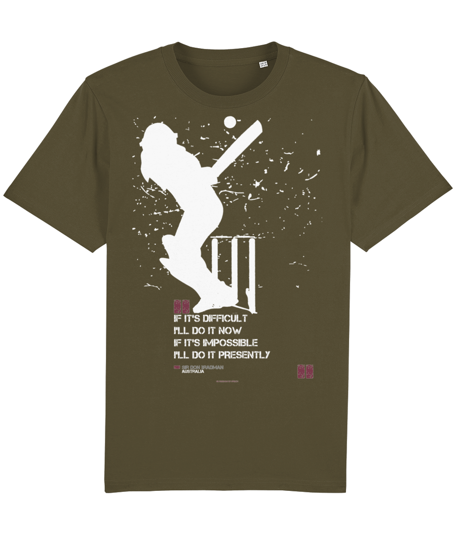 The Doosra Range - Sir Don Bradman Quote T-Shirt