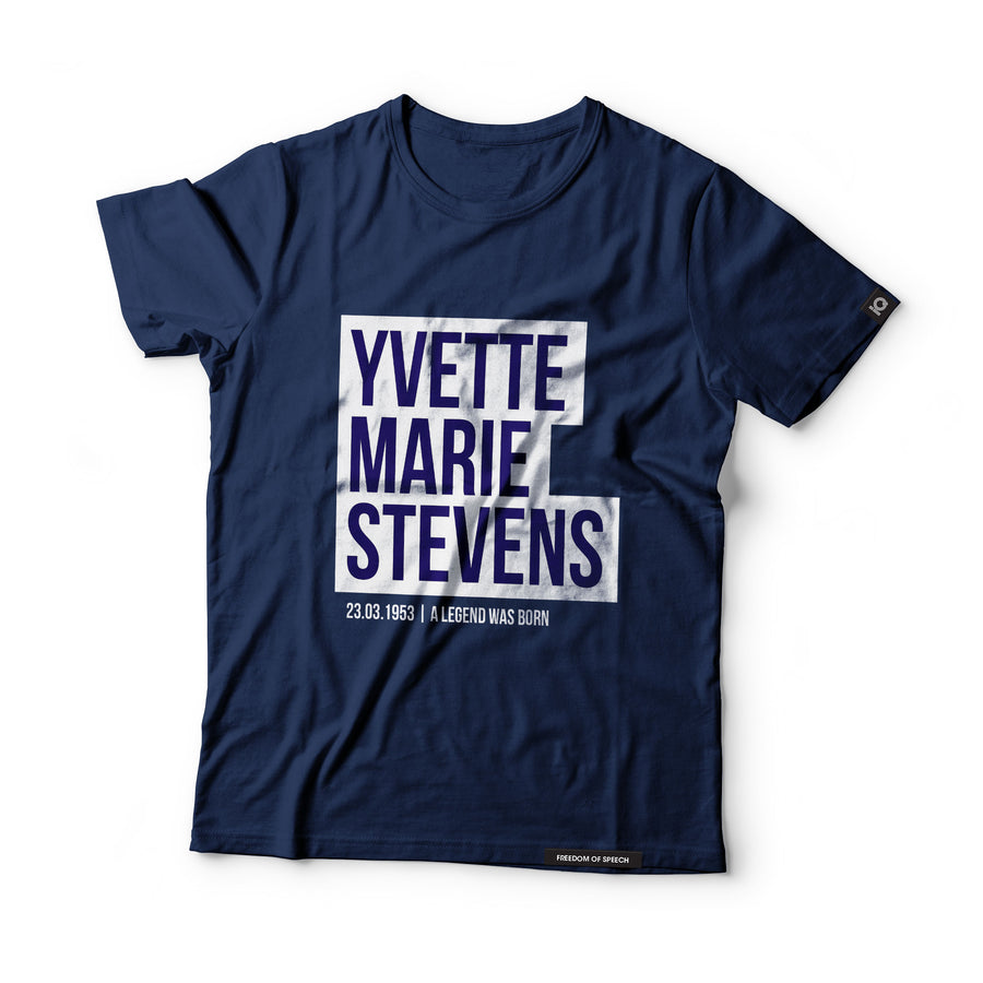 Yvette Marie Stevens - Black Label T-Shirt
