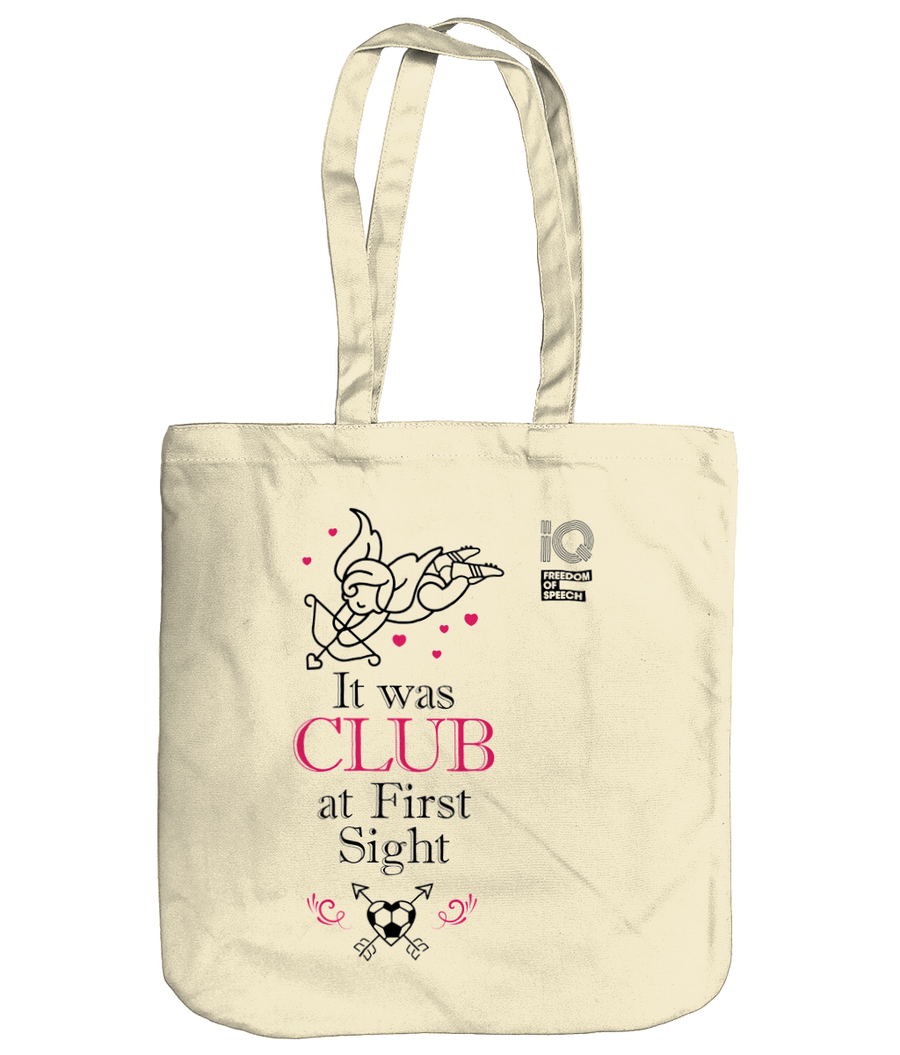 It was Club at First Sight Organic Cotton Tote Bag