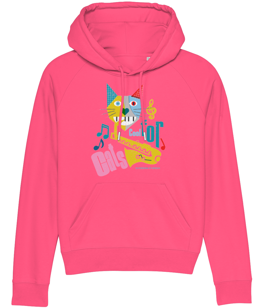 Cool For Cats Design 3 Women's Hoodie