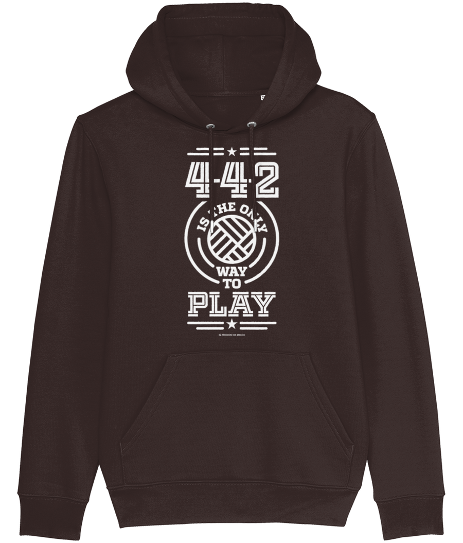 4-4-2 is the Only way to Play Men's Hoodie