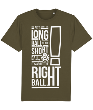 It's not about the Long Ball - T-Shirt - Bob Paisley