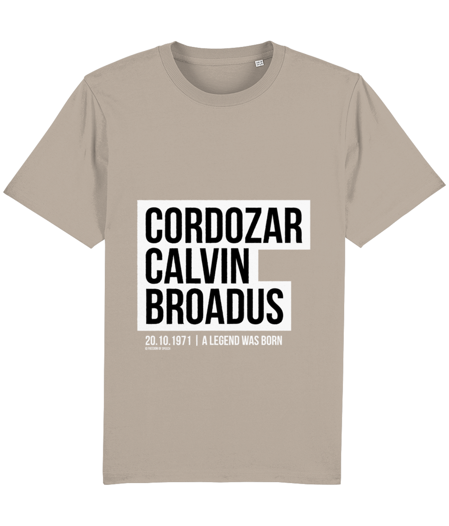 Cordozar Calvin Broadus Jr - aka Snoop Dogg - T-Shirt