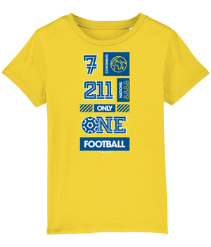 7 Continents, 211 Nations, only 1 Football Kids T-Shirt