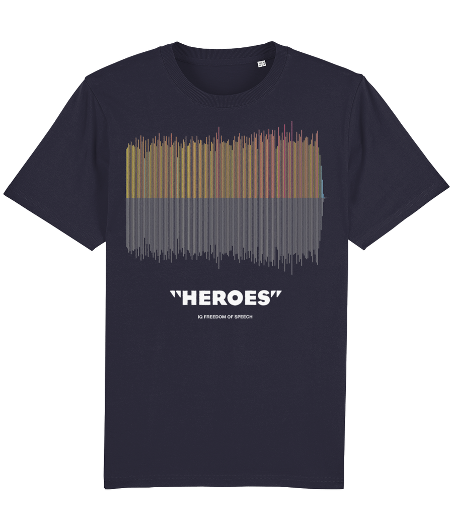 Heroes Colour Linear Soundwave T-Shirt