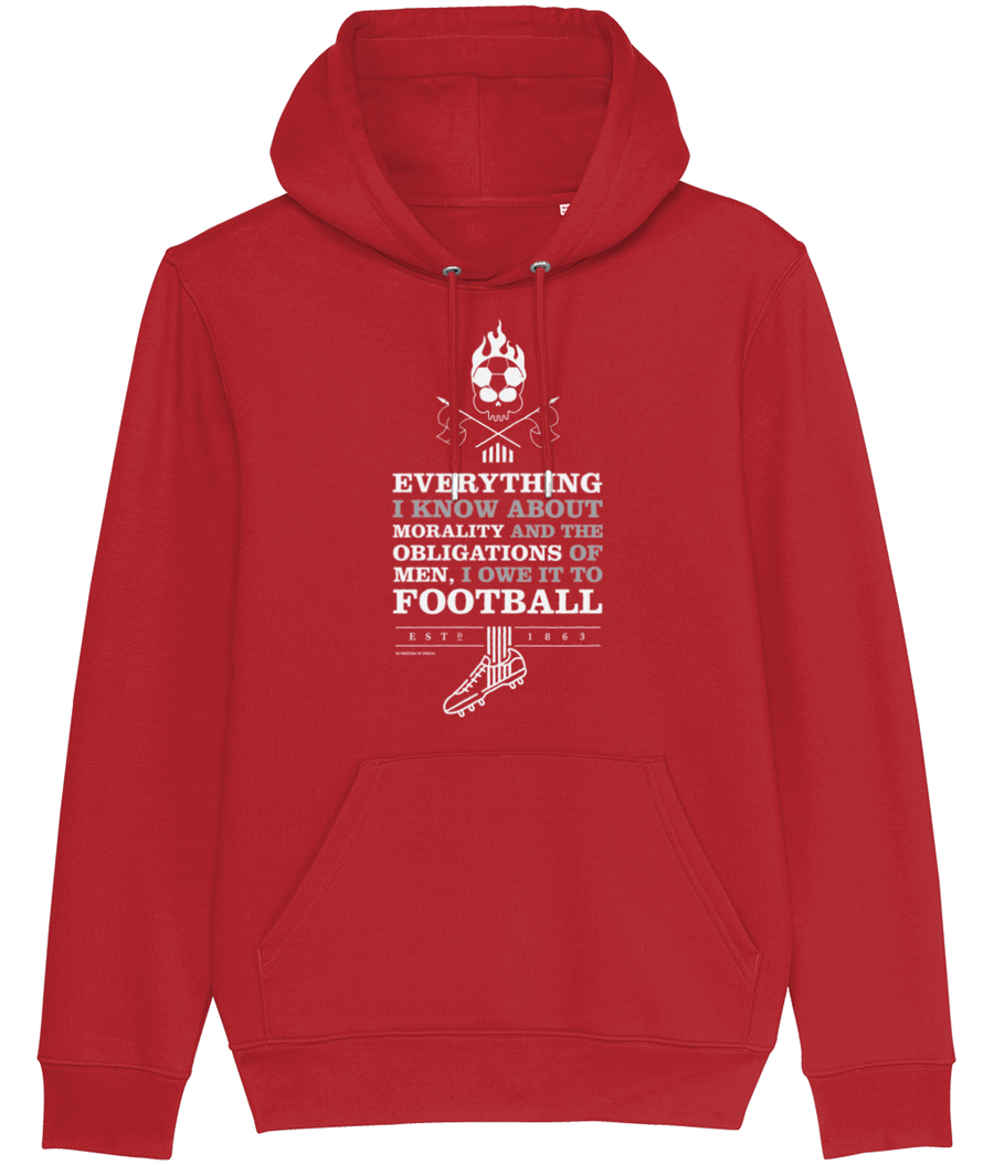 Everything I Know about Morality Men's Hoodie