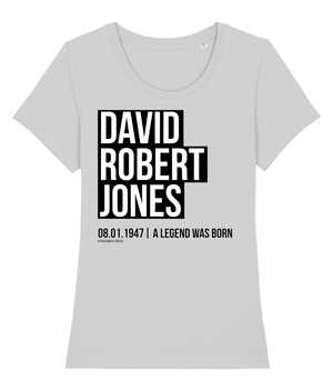 David Robert Jones - aka David Bowie - Women's T-Shirt