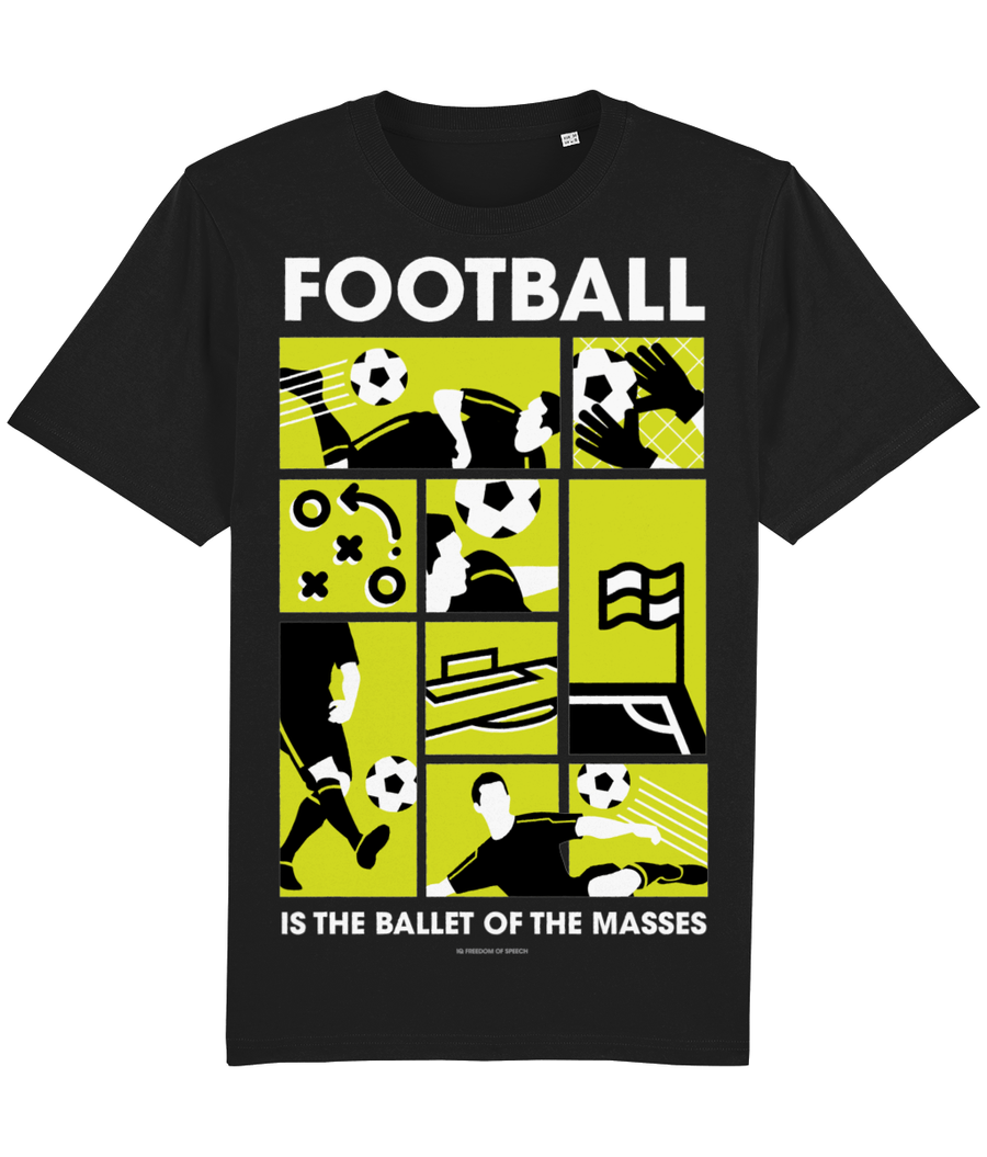 Football is the Ballet of the Masses T-Shirt - Dmitri Shostakovich