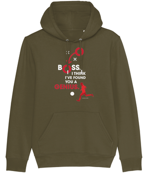 Boss, I Think I've Found you a Genius Men's Hoodie