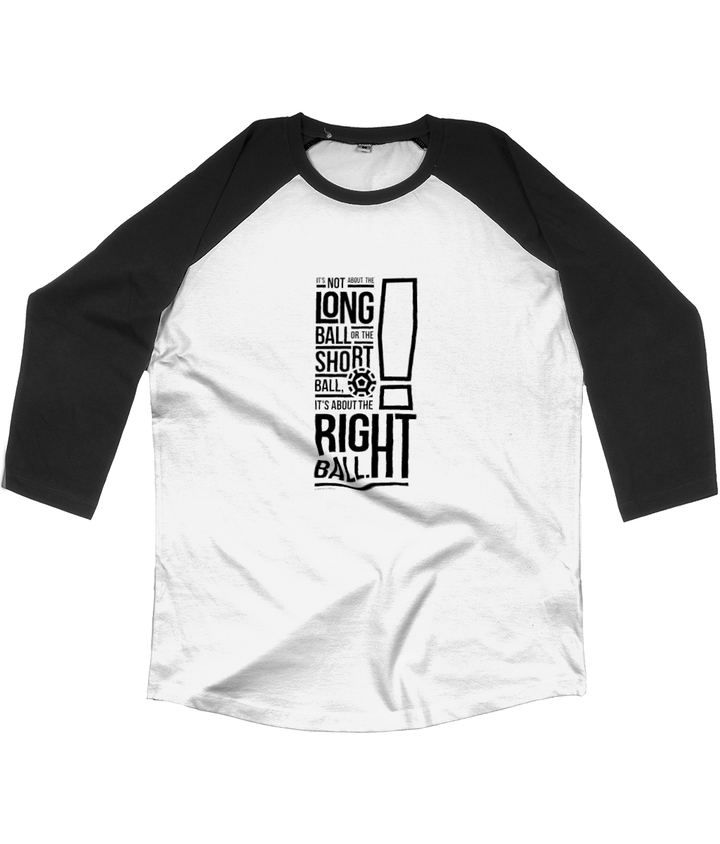 It's not about the Long Ball Unisex Baseball Shirt