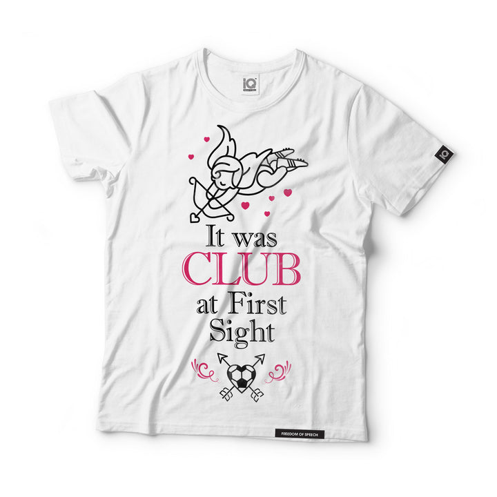 It was Club at First Sight - Black Label T-Shirt
