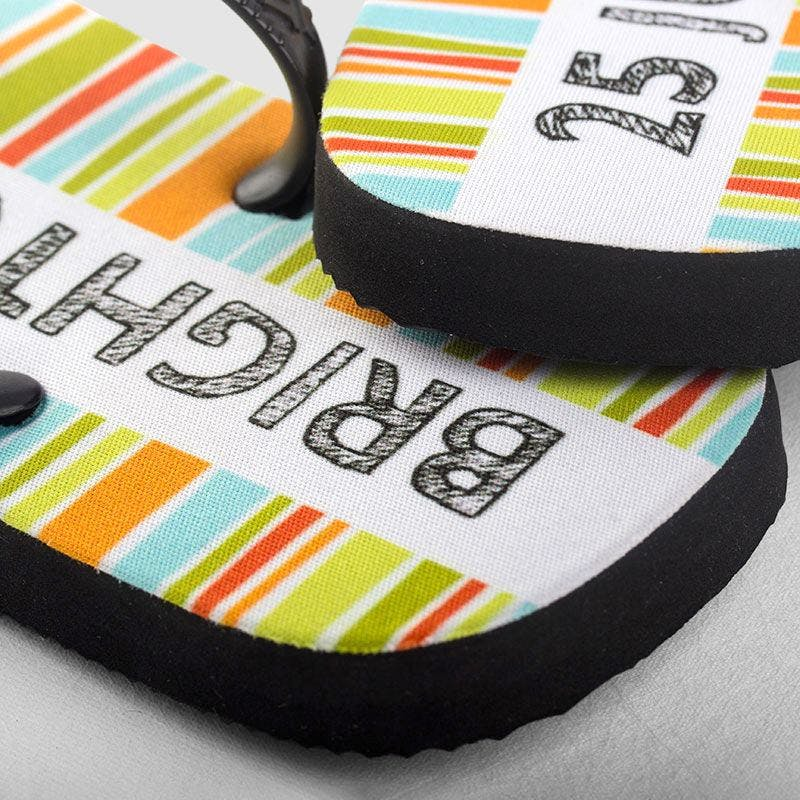 COOL FOR CATS DESIGN 2 FLIP FLOPS