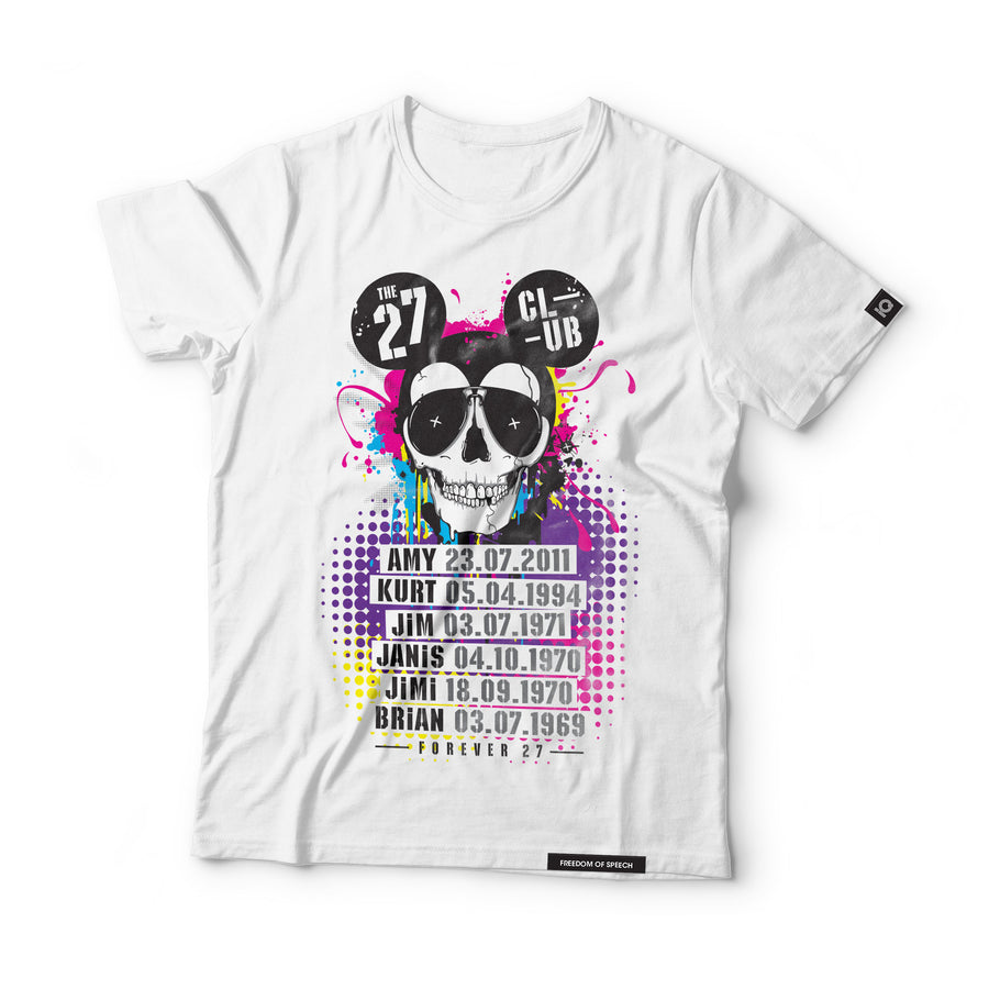 The 27 Club - Mouse Skull - Black Label T-Shirt